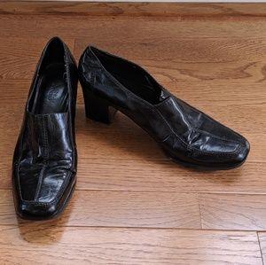 Used FRANCO SARTO Leather (slacks) Loafer Heels 9